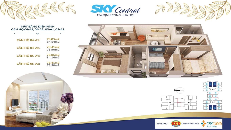 Thiết kế căn hộ Sky Central 3 ngủ 2 vệ sinh (3)