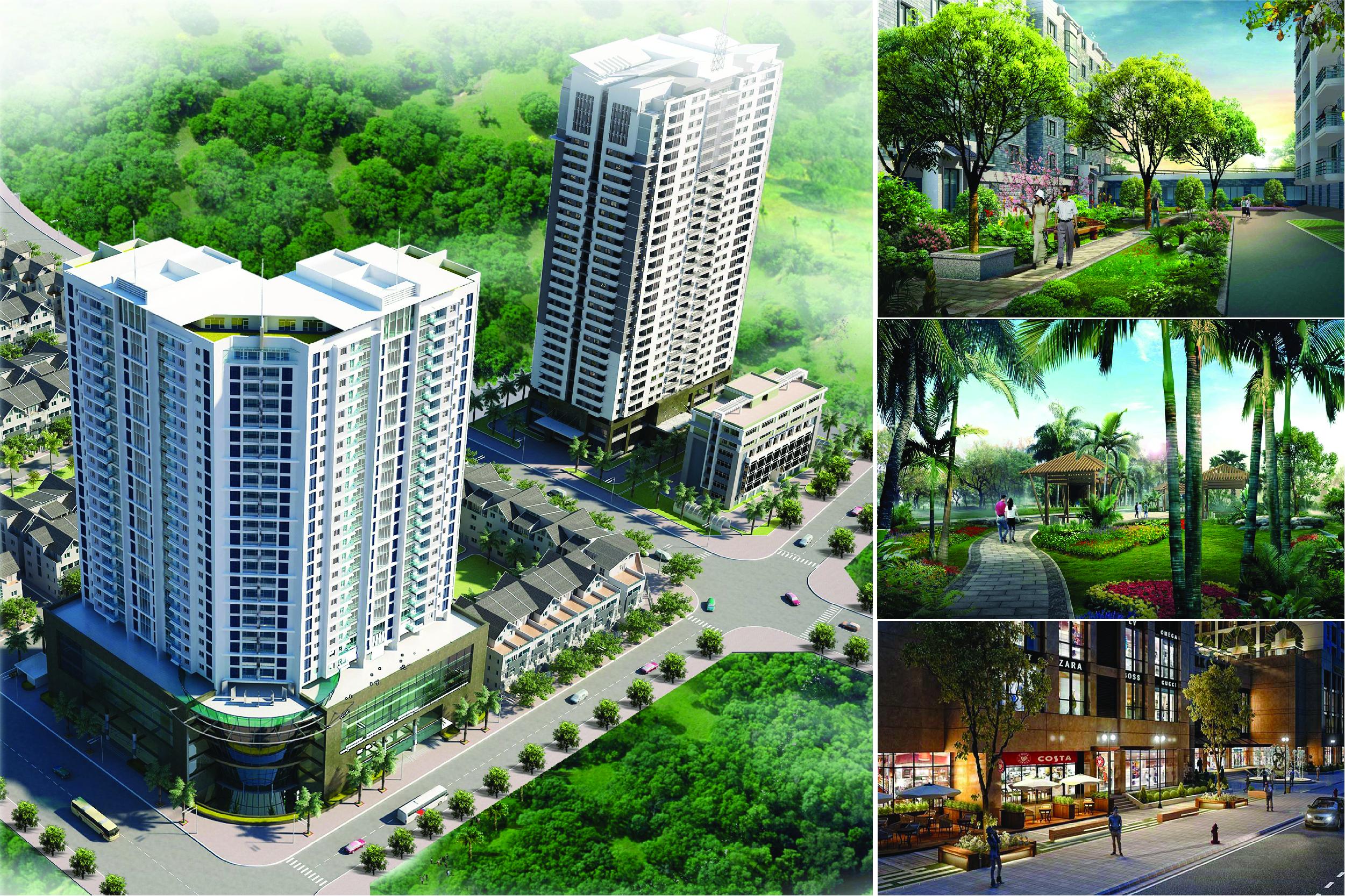 Dự án Thăng Long City với đầy đủ tiện ích của một khu đô thị cao cấp