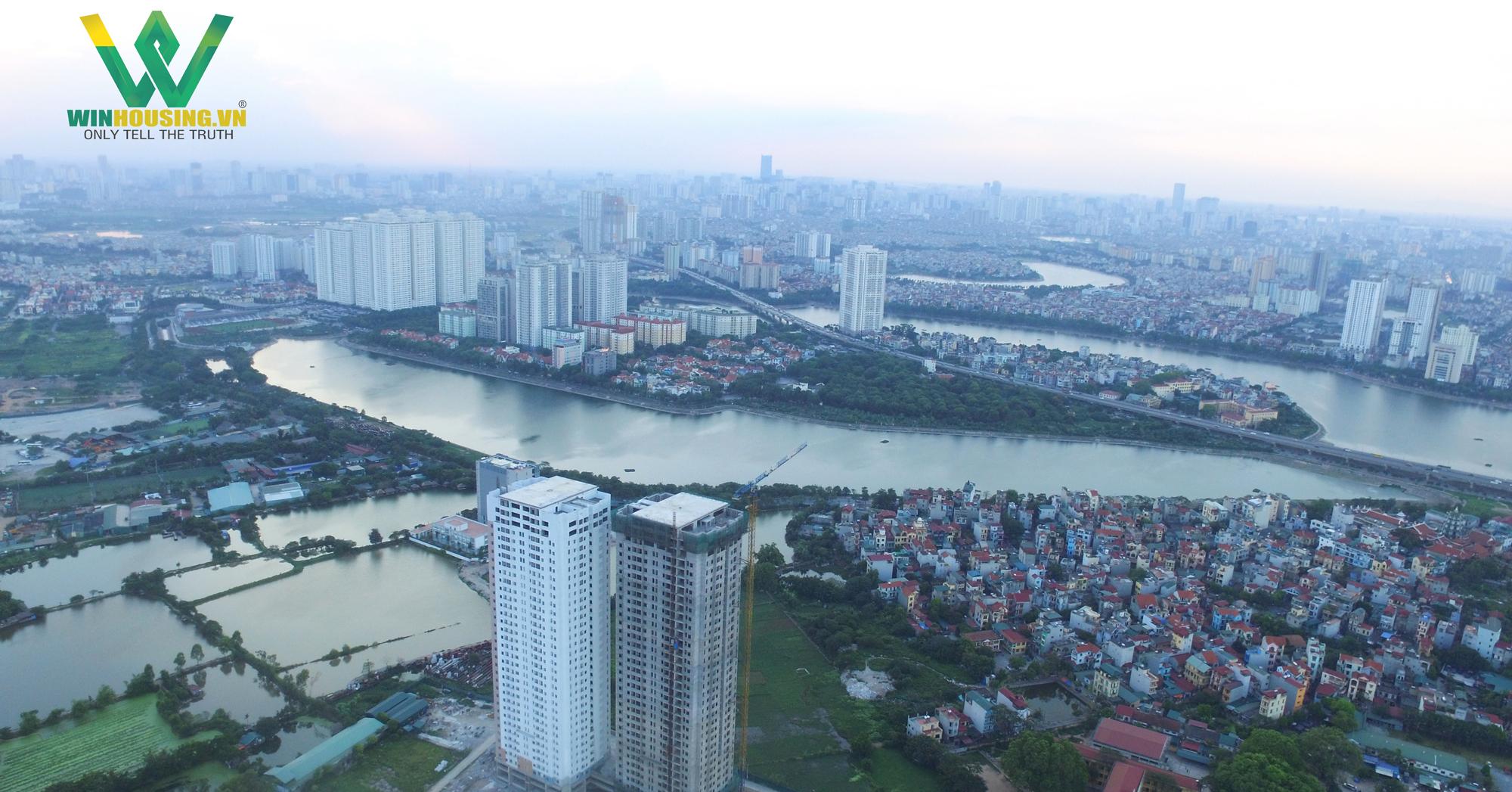 Toàn bộ dự án Osaka Complex được nhìn từ trên cao