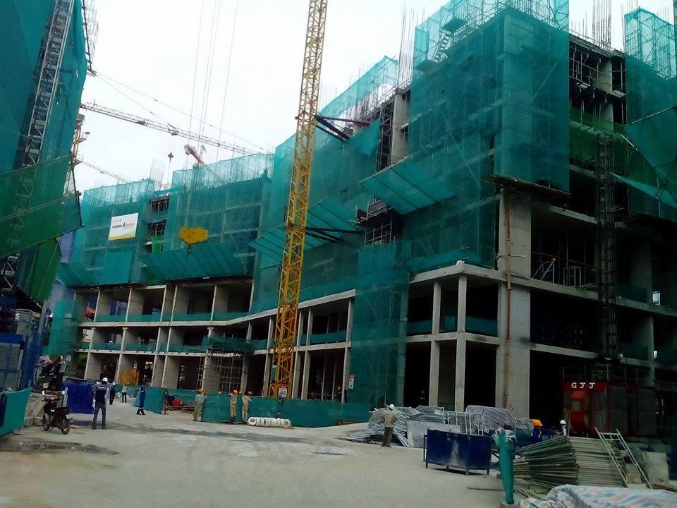 Tiến độ dự án B32 Đại Mỗ cập nhật ngày 15-11-2017