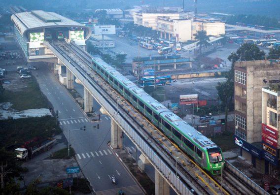 Đường sắt Cát Linh - Hà Đông mang lại tín hiệu tốt cho thị trường Tây Hà Nội
