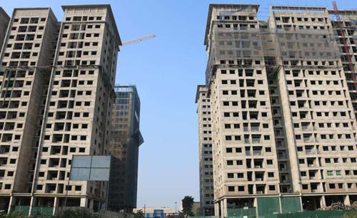 Một dự án tại Hà Nội nằm trong danh sách thế chấp