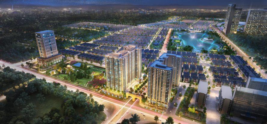 Phối cảnh dự án Anland Premium tại khu đô thị Dương Nội