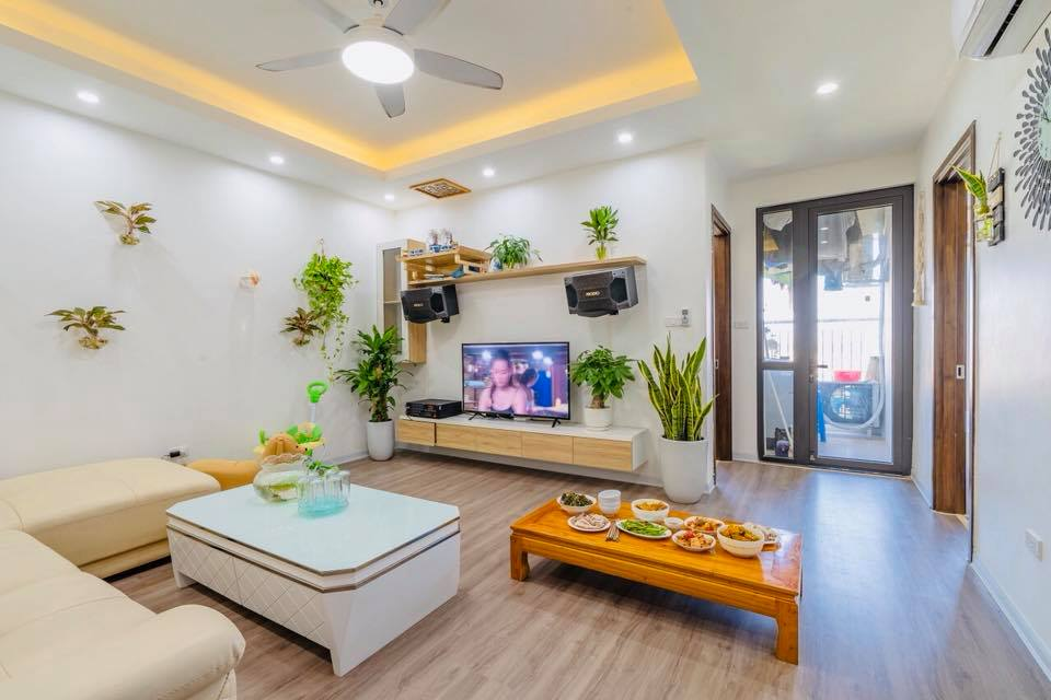 Thiết kế nội thất căn hộ mẫu 60m2