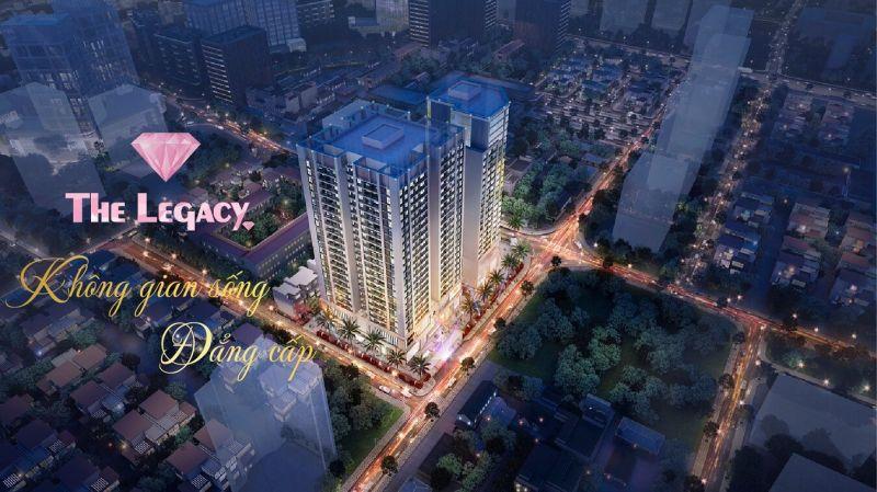 Phối cảnh chung cư The Legacy cao cấp nhất quận Thanh Xuân