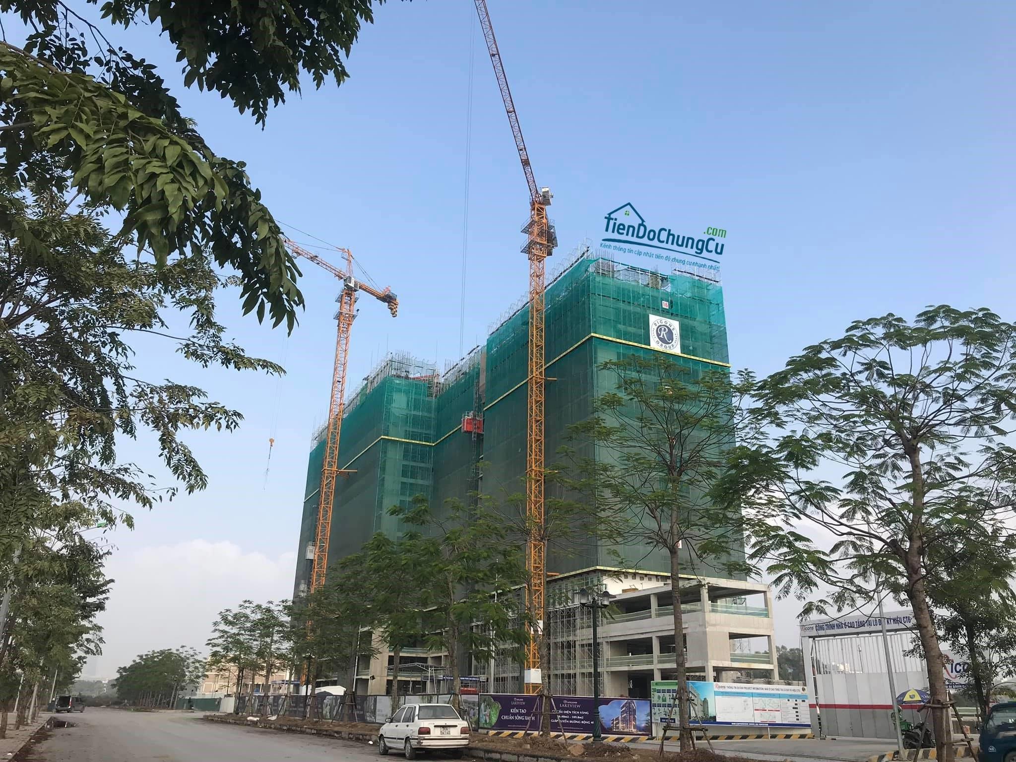Tiến độ dự án AnLand Dương Nội tháng 12/2019 (2)